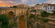 Puente Nuevo bridge seen from Ronda Parador