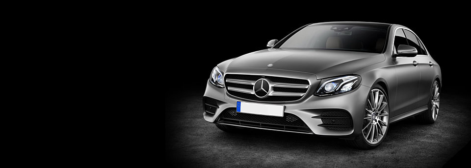 Mercedez E - One of our available cars