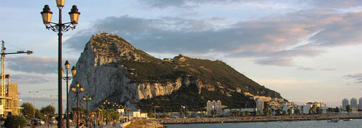The mountain of Gibraltar can be seen from over 50 kilometers during clear day